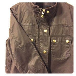 J.CREW Downtown Field Jacket (Green)